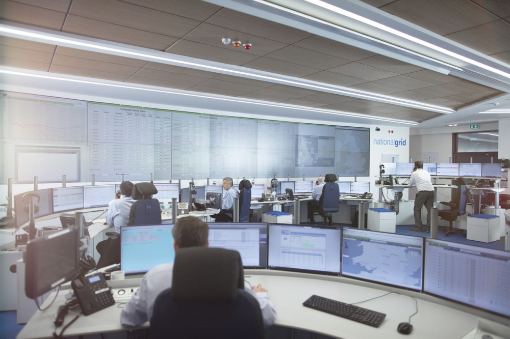 National Grids control room